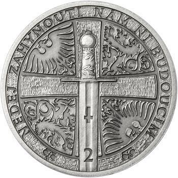 2013 - patina - Svatováclavské dukáty - 2 dukát Ag - 2