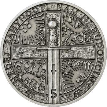 2013 - patina - Svatováclavské dukáty - 5 dukát Ag - 2