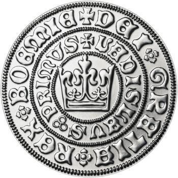 Pražský groš - 2 dukát Ag b.k. - 2