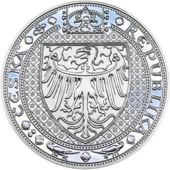 Nejkrásnější medailon IV. Karlštejn - 1 kg Ag Proof-like - 2