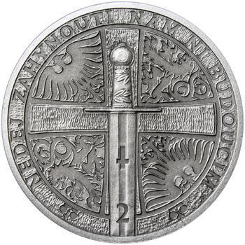 2014 - patina - Svatováclavské dukáty - 2 dukát Ag - 2