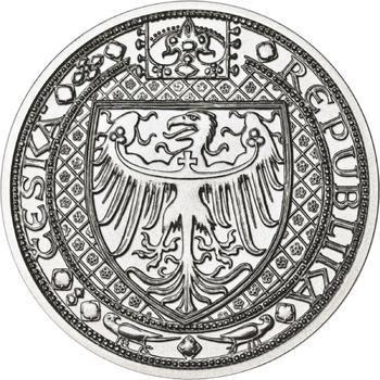 Nejkrásnější medailon IV. - Karlštejn Ag b.k. - 2