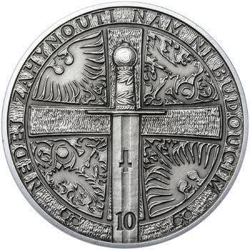 2014 - patina - Svatováclavské dukáty - 10 dukát Ag - 2