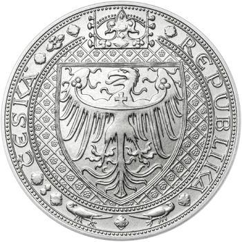 Nejkrásnější medailon IV. - Karlštejn 50 mm Ag b.k. - 2