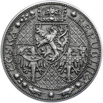 Nejkrásnější medailon - Nové Město pražské Patina - 2