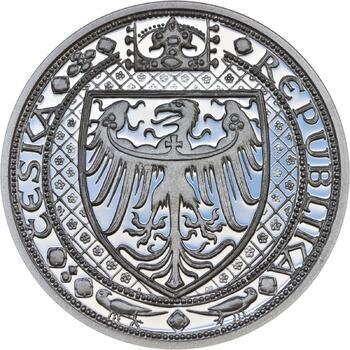 Nejkrásnější medailon IV. - Karlštejn Ag Proof - 2
