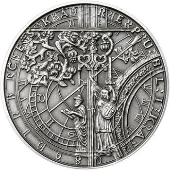 Patina - Pražské dukáty - 10 dukát - Staroměstský orloj Ag - 2