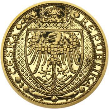 Nejkrásnější medailon III. - Císař a král zlato Proof - 2