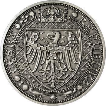 Nejkrásnější medailon III. - Císař a král Ag Patina - 2