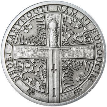 2013 - patina - Svatováclavské dukáty - 1 dukát Ag - 2