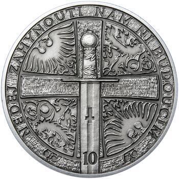 2015 - patina - Svatováclavské dukáty - 10 dukát Ag - 2