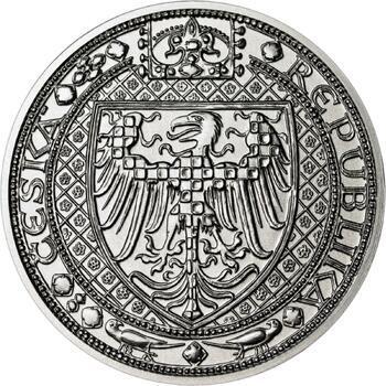 Nejkrásnější medailon III. Císař a král - 50 mm Ag b.k. - 2