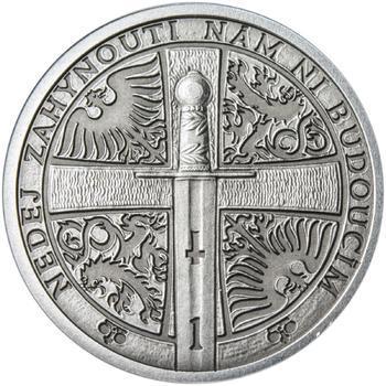 2014 - patina - Svatováclavské dukáty - 1 dukát Ag - 2