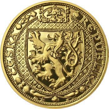 Nejkrásnější medailon II. - Královská pečeť zlato Proof - 2
