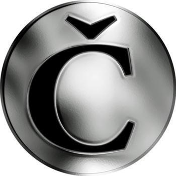 Česká jména - Čeněk - stříbrná medaile - 2