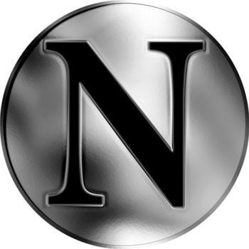 Česká jména - Nikolas - stříbrná medaile - 2