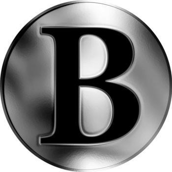 Česká jména - Benjamín - stříbrná medaile - 2