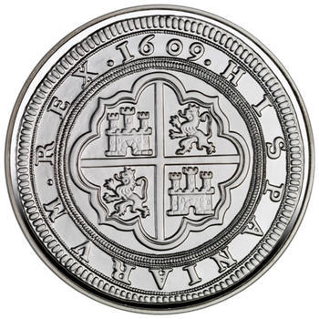 2009 Jewels of Numismatics - Cincuentín 1609 Ag Proof - 2