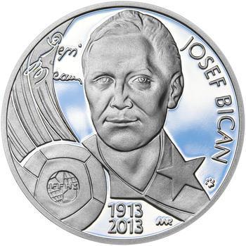 JOSEF BICAN – návrhy mince 200,-Kč - sada tří Ag medailí 34mm Proof v etui - 2