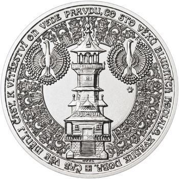 Dušan Samuel Jurkovič ( 60 let od jeho úmrtí ) - stříbro b.k. - 2