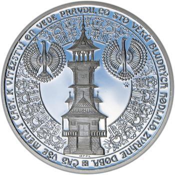 Dušan Samuel Jurkovič ( 60 let od jeho úmrtí ) - stříbro Proof - 2