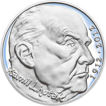 KAMIL LHOTÁK – návrhy mince 200,-Kč - sada tří Ag medailí 34mm Proof v etui - 2