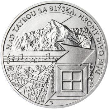 Nad Tatrou sa blýska - 1 Oz stříbro b.k. - 2