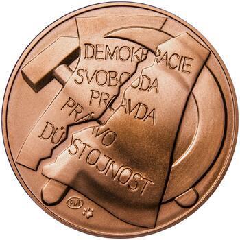 25. únor 1948 - 66. výročí od komunistického puče - 1 Oz Měď b.k. - 2