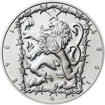 17. listopad 1989 - stříbro malá b.k. - 2