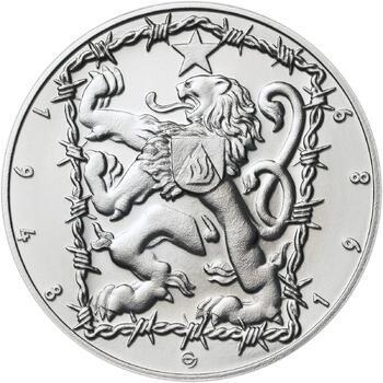17. listopad 1989 - stříbro 1 Oz b.k. - 2