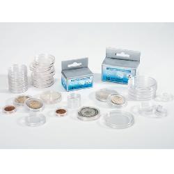 Plastové kapsle na mince CAPS 25 - 2