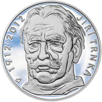 JIŘÍ TRNKA – návrhy mince 500 Kč - sada tří Ag medailí 34 mm Proof v etui - 2