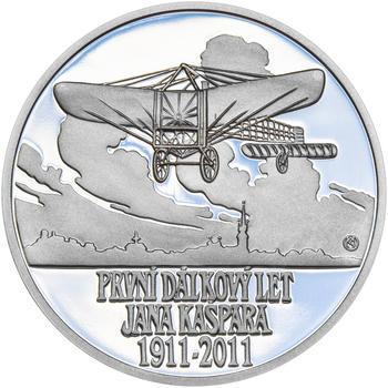 JAN KAŠPAR – návrhy mince 200 Kč - sada tří Ag medailí 34 mm Proof v etui - 2