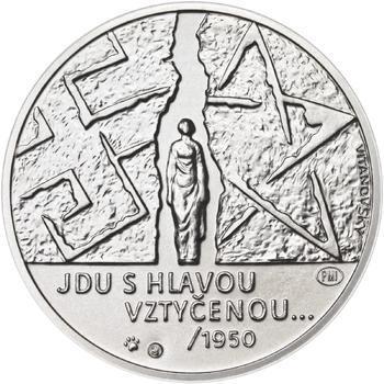 Milada Horáková - stříbro malá b.k. - 2