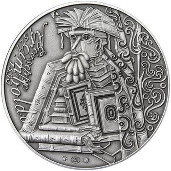 Giuseppe Arcimboldo - stříbro patina - 2
