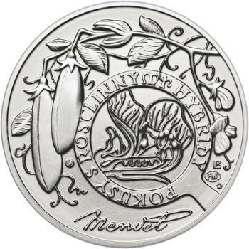 Johan Gregor Mendel - stříbro b.k. - 2