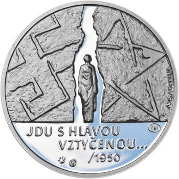 Milada Horáková - stříbro malá Proof - 2
