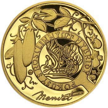 Johan Gregor Mendel - zlato Proof - 2