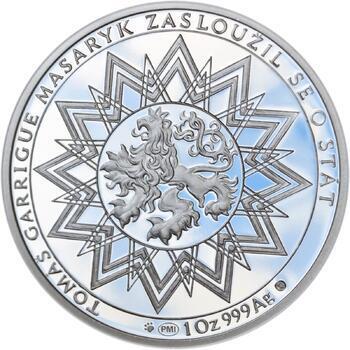Proof - 70 let od úmrtí Tomáše Garrigue Masaryka - stříbro Proof - 2