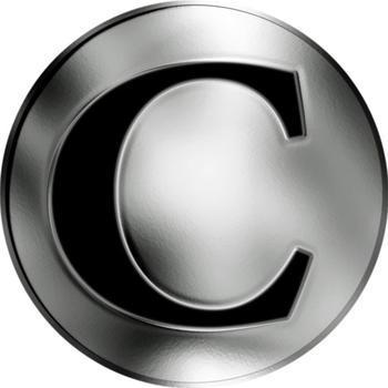 Česká jména - Ctirad - stříbrná medaile - 2