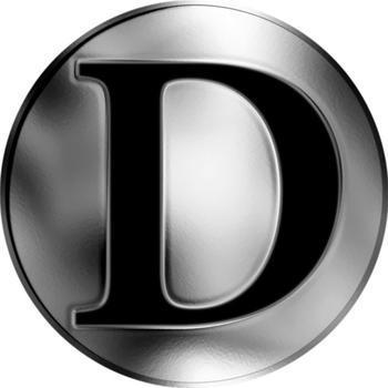 Česká jména - Dušan - stříbrná medaile - 2