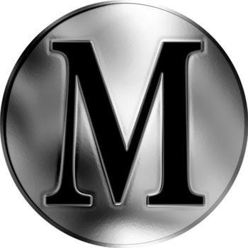 Česká jména - Maxim - stříbrná medaile - 2