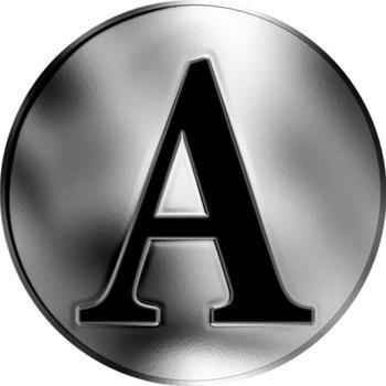 Česká jména - Antonín - stříbrná medaile - 2