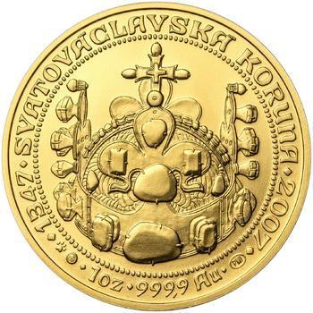 660 let od Korunovace Karla IV. českým králem - zlato b.k. - 2