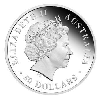 Australia Dreaming - Brolga Pt 1/2 Oz Proof - Platina - 2