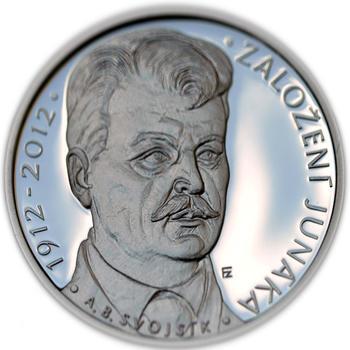 Mince ČNB - 2012 b.k. - 200 Kč  Založení Junáka - 2