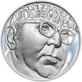 Mince ČNB - 2017 Proof - 200 Kč Josef Kainar - 2
