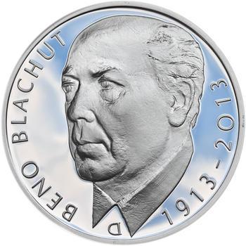 Mince ČNB - 2013 Proof - 500 Kč Beno Blachut - 2