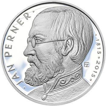 Mince ČNB - 2015 Proof - 200 Kč Jan Perner - 2