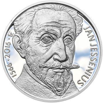 Mince ČNB - 2016 Proof - 200 Kč Jan Jessenius - 2